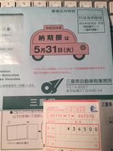 自動車税納付