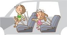 シートベルト子供にさせない親