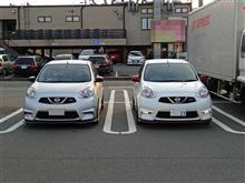 全日本ラリーを走行しているマーチNISMO Sの車載が公開されてましたねw