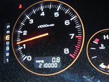 21万キロ達成しました