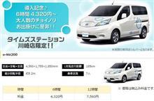 日産の電気自動車『e-NV200』で宮ヶ瀬ダム(神奈川)へ