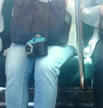 電車の中の気になるアイテム