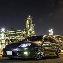 工場夜景 × レガシィ