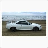 車で走れる砂浜へ~