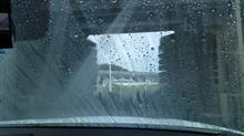 洗車したのに…。
