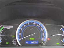 キリ番達成! 14500km。