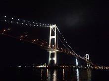 今夜の「白鳥大橋」 ☆ヽ(最´∀`高)ノ★