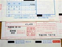 自動車税+軽自動車税+固定資産税1期分を「nanaco」で支払いました 160530