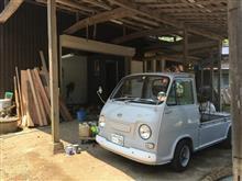 オンボロ倉庫の改装 けっこう進んだ。