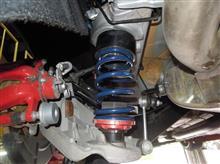 アルファロメオジュリエッタQV19インチ化に伴う全長式車高調の仕様変更の顛末