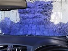 最近の洗車は。