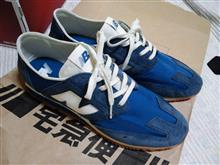 ニューバランスの靴(^_^)v