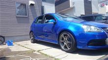 洗車と。。。