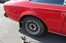 タイヤに空気を補充