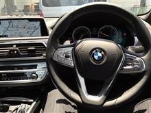 NEW BMW740i Mスポ試乗