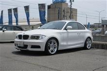 メンテナンス三昧BMW E82 135 TEXA&EGオイル etc