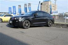 マフラー交換..2巡目 BMW X4 3.5 今回も3Dデザインステンレスマフラー