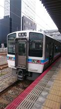JR四国6000系に初乗車
