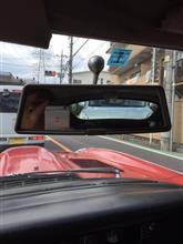 後ろの車さん、車間詰め過ぎですよ。