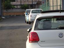 Fiat500との距離