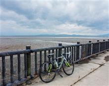 今日のサイクリングは平地のポタリング。