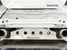 製品紹介・ハッチバック車輌等には特にオススメ・CARBING フレームブレースリア