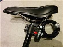 自転車の鍵(PALMY(パルミー) ダストカバー付ワイヤーロック P-555)購入♪