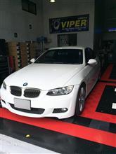 BMW E92へカーセキュリティ&ナビのお取付です!