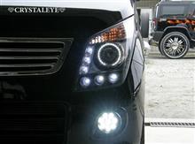 MH23SワゴンR LEDイカリングヘッドライト!!