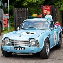 【ブランズハッチ】BRANDS HATCH GP HISTORICAL FESTIVAL 24 | Triumph TR4 1962, MG MGB 1965