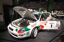 トヨタ WRC参戦の系譜 展