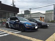 Racingline JAPAN 7R試乗会へ