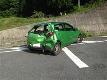 事故の状況  100%被害事故だが、かなりの出費が出るようだ -4