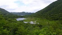 赤城山 駒ヶ岳~黒檜山~覚満淵~鳥居垰 2016.6.26 山旅 PS250