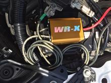 3Q自動車 WR-X 取り付けしてウロウロ