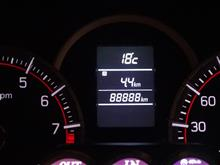 キリ番達成(88,888km)!!