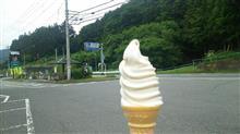 花豆ミックスソフトクリーム♪