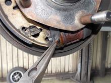 ローバーミニ ブレーキ修理
