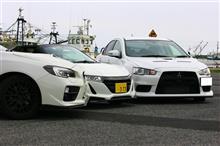 HONDA S660 / MITUBISHI ランエボX / SUBARU WRX STI 乗り比べ!