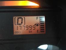 もう少しで18万キロ!
