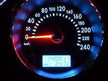 距離が伸びる話だけだな~ 祝140,000km
