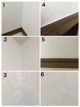 DIY 壁紙:貼る~完成