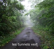 MINI原人緑のトンネルへ à travers le tunnel vert 6