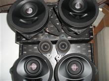 ソニックデザインスピーカーセットの取付