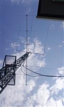50MHzアンテナ設置