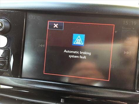 Automatic braking system fault」ふじふじ55のブログ | @いつでも