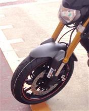 レイク号 タイヤ交換しただよ。