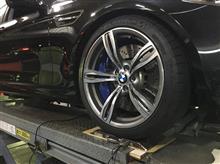 BMW M5(F10)ダンパーワンオフ製作!!