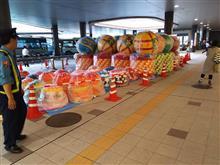 仙台七夕祭り、準備中!