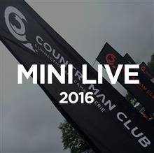 MINI LIVE 2016とゴルフ